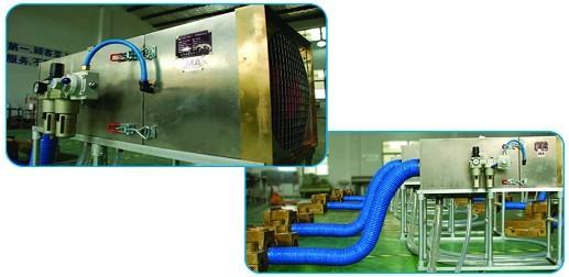 1矿用湿式气动除尘器是针对国内煤矿企业矿井井下钻孔专用的除尘设备
